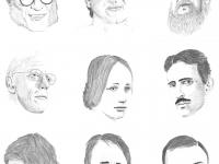Portraits des protagonistes du chat (Scan)